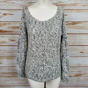 Free People Knitted Crochet Sweater Size S